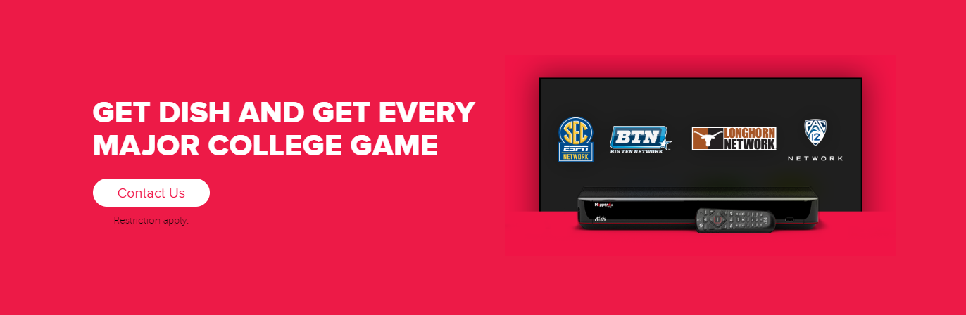 Sports TV Package - College Sports - Rainsville, Alabama - Cable Time - DISH Authorized Retailer